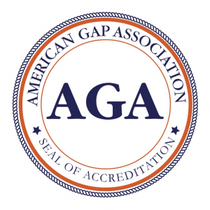 Seal of accreditation by American Gap Association
