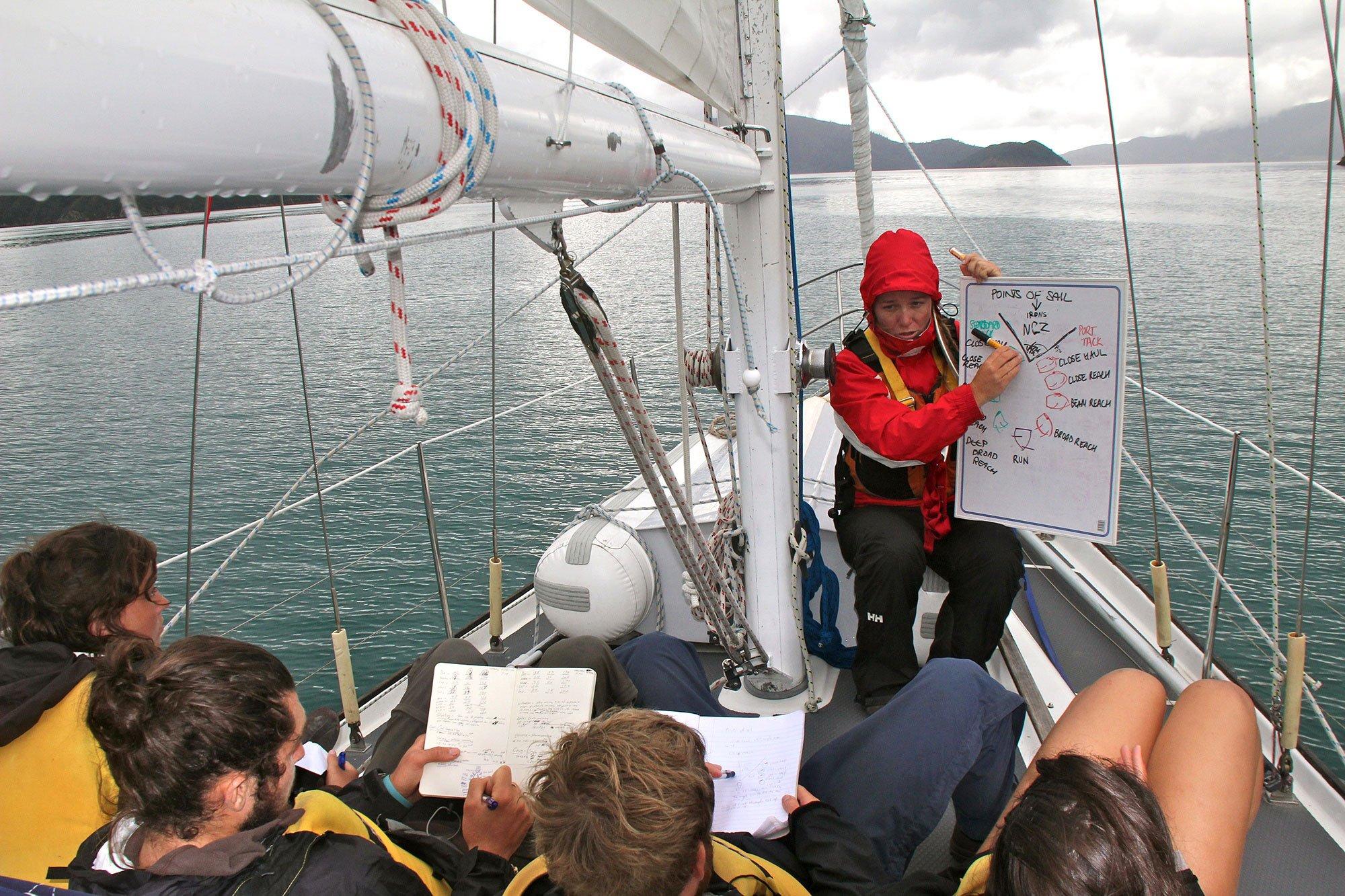 NOLS NZ Keelboat Sail NZS 2 & 4, 28 March - 20 April 2012. - 049_edit