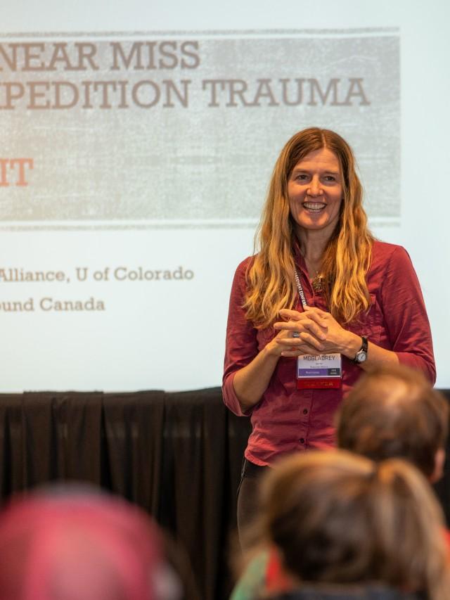 Laura McGladrey at WRMC_photo by Brad Christensen