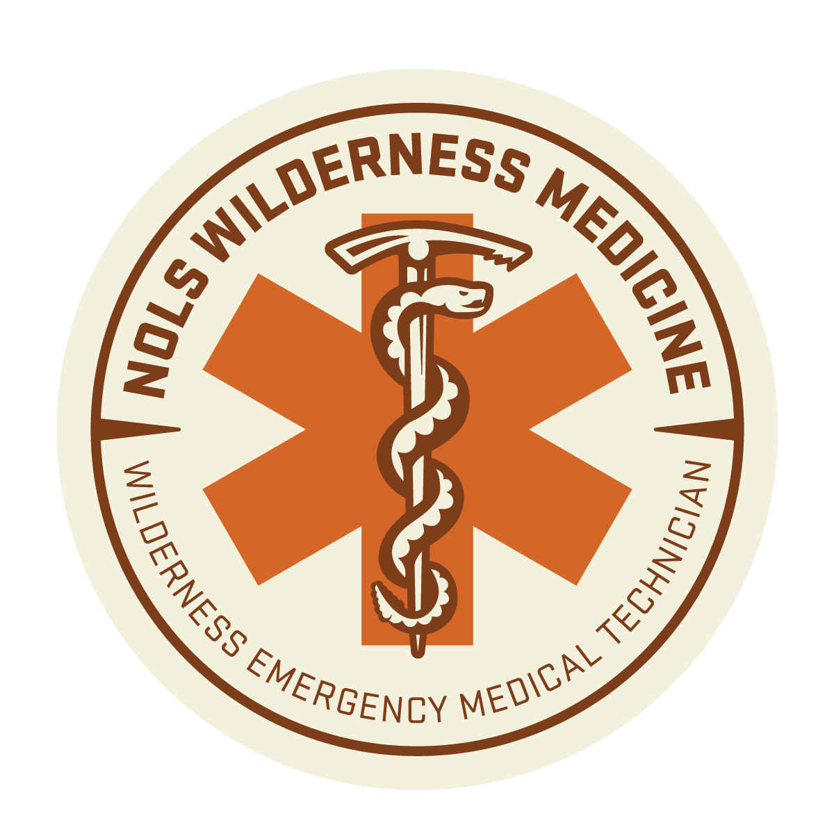 Wilderness EMT Badge from NOLS Wilderness Medicine