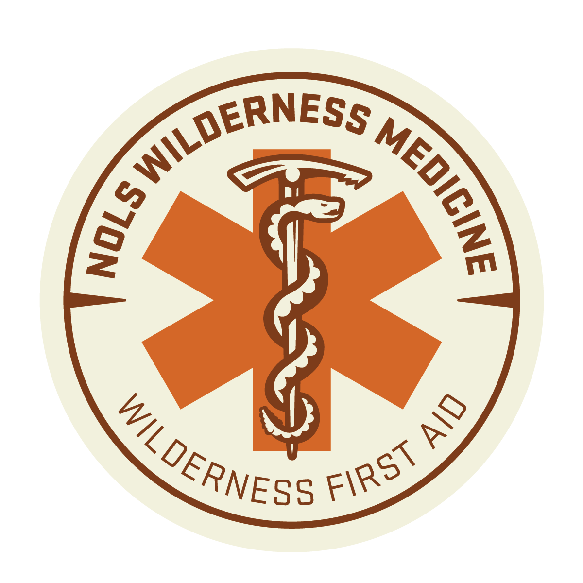 Wilderness First Aid Badge from NOLS Wilderness Medicine
